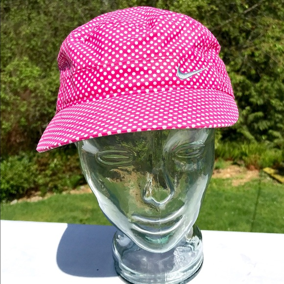 Nike Accessories - Hot Pink w white dots Nike Golf Hat ecef1e5d7c6